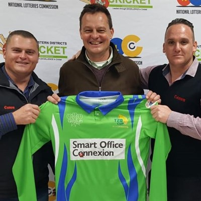 SWD cricket team sponsored by Smart Office Connexion