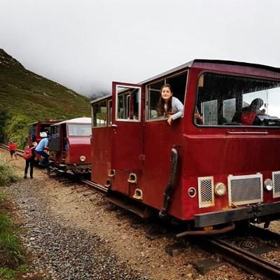 Power Van back on mountain track