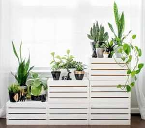 Nine ways to use wooden crates