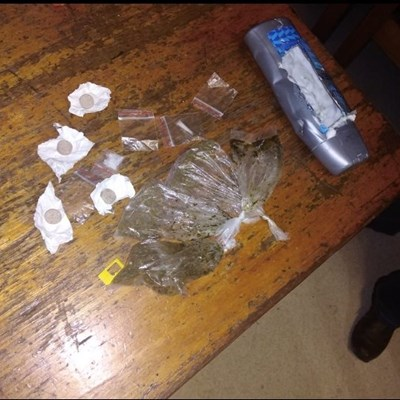 5 arrested for drugs over the weekend