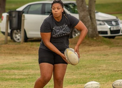 Stormers skills coach visits Titans Women's Rugby Academy