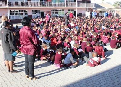 De Villiers Primêr vier Nasionale Onderwysersdag