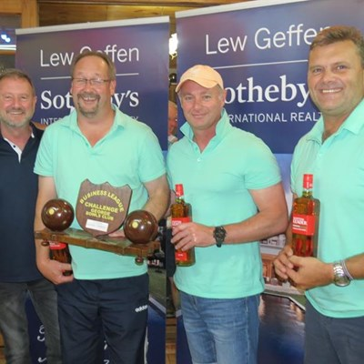 FNB bowling team clinch title