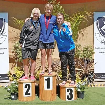 Nuwe junior downsindroom-wêreldrekord vir Minke Janse van Rensburg