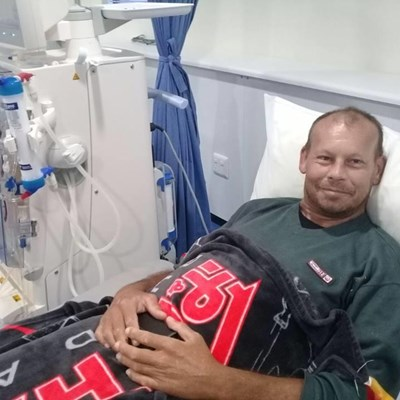 Community drive to keep father alive