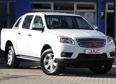 The new JAC T6 Double Cab 4x4