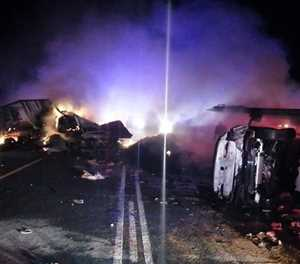 Fatal accident on N1 near Leeu Gamka