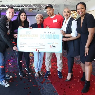 R1 million winner from Mossel Bay