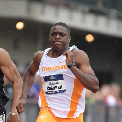 Coleman eyes chance to shine in post-Bolt era