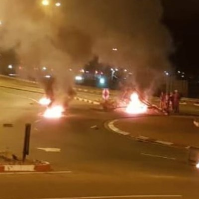 Looting becomes part of Plett protest action