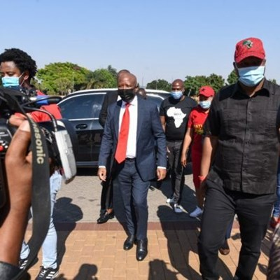 Tempers flare in courtroom, Malema and Ndlozi's advocate grills cop