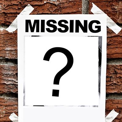 Missing - or are they?