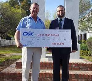Generous donation to Union High School