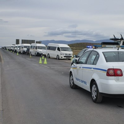 Taxis stream into Eastern Cape