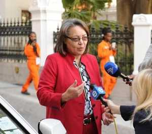 Ruling on De Lille's disciplinary hearing to be heard on Thursday