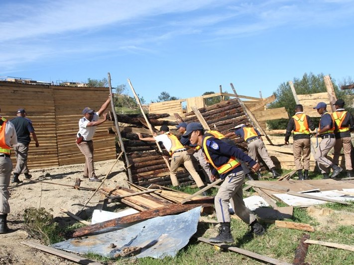 Shacks demolished in Thembalethu