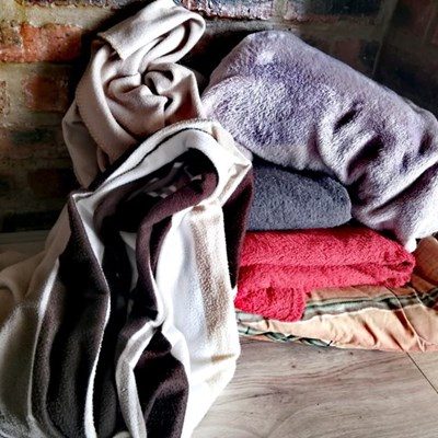 Blankets and winter woolies needed