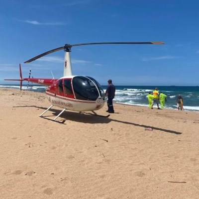 Father, son and dog die after tragic KZN beach drowning