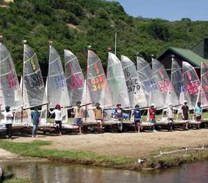 Dabchick class championships regatta