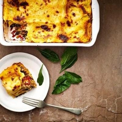 Recipe: Lentil, spinach and ricotta lasagne