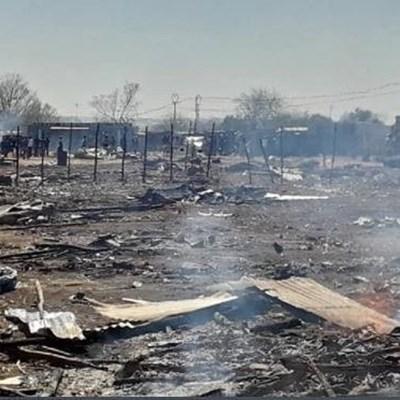 Ekurhuleni land grabbers accuse officials of burning their belongings
