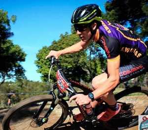 Kwagga-bergfietsryers voor in Spur-liga