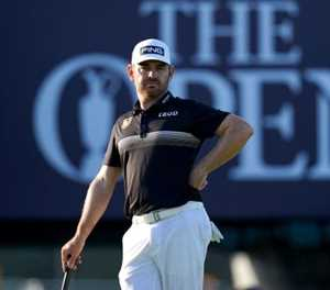 Oosthuizen in first place in British Open