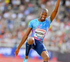 Manyonga reaches World Indoor Champs podium