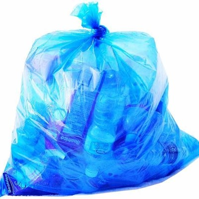 Blue bags handed out this week