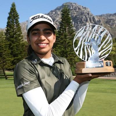 Diksha drives to victory in Investec SA Women's Open