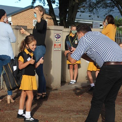 Western Cape Schools ready for first day