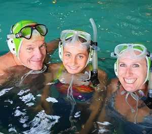 Underwater hockey back with a blast