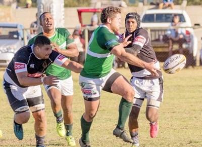 Heidelberg rugby verloor teen George