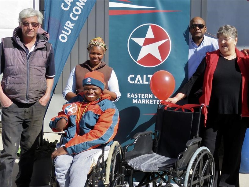 New wheels for boy in need
