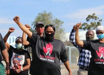 Community members unite against GBV