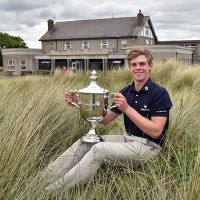 Young golfer triumphs in Ireland