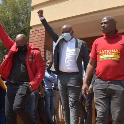 Malema wants rubber bullets declared unconstitutional