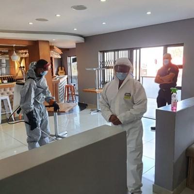 GRDM decontamination efforts continue