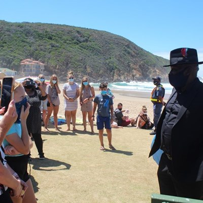 Top cop's spot check on Southern Cape beaches