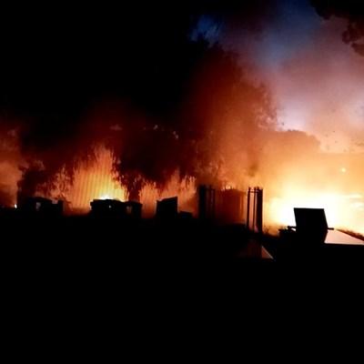 Cradock-begraafplaas weer aan die brand