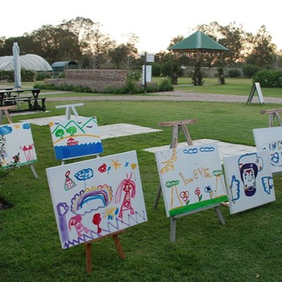 Life children's art auction successful