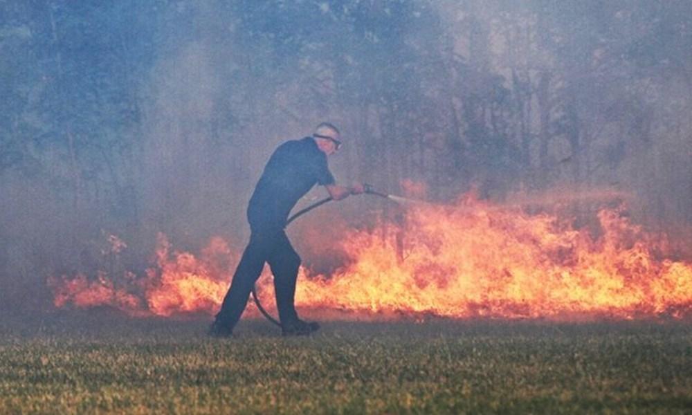 Rooirivierrif veldbrand op Donderdag 12 Julie