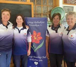 Lady bowlers play club championships