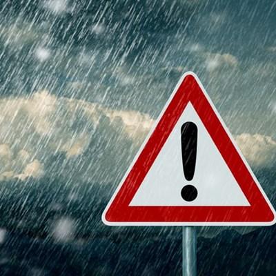 Weather warning: Wind, snow and rain