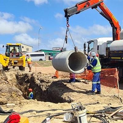 Stormwater upgrades of R23-million