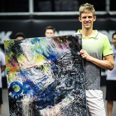 Kevin Anderson 'thanks' puppy for New York win