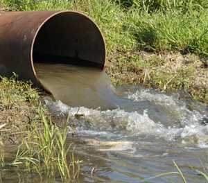 Severe pressure on waste water treatment capacity