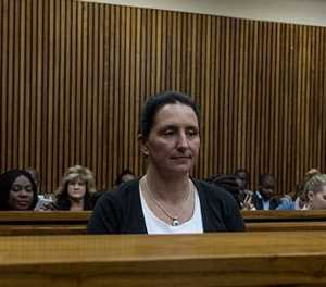 Momberg faces more sanctions for swearing at prison staff