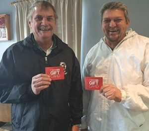 Spar Handicap Pairs winners