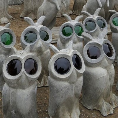 Free cement sculpture workshop